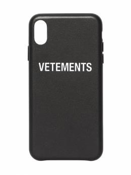 Кожаный Чехол Для Iphone X/xs Vetements 70IW3L006-QkxBQ0s1