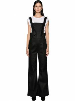 Wide Leg Cotton Denim Overalls Frame 70IVHH005-Tk9UWA2