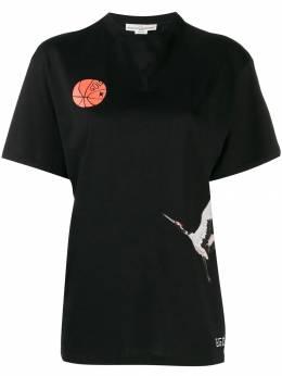 Golden Goose футболка с принтом G35WP024D2