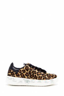 Леопардовые кеды на платформе Belle Premiata 827145861