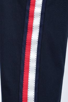 Синие брюки с лампасами и подворотами P.a.r.o.s.h. 393146015