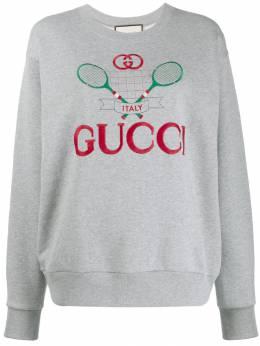 Gucci - толстовка с вышивкой 056XJBIY953566300000
