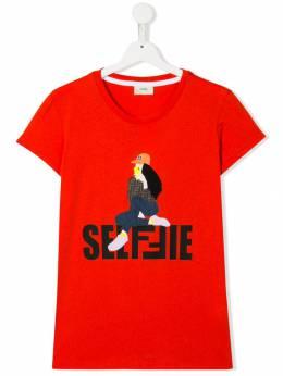 Fendi Kids - футболка Selfie 9633AJ95353356000000