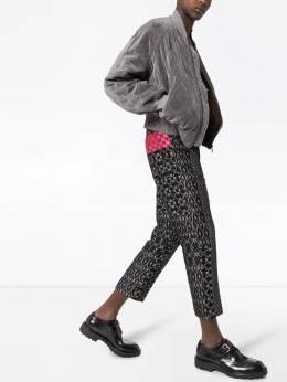 Haider Ackermann - жаккардовые брюки с узором 35660666369593930500