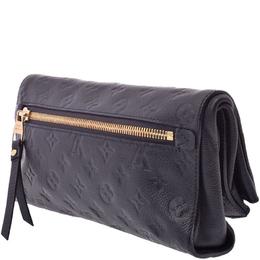 Louis Vuitton Bleu Infini Monogram Empreinte Leather Petillante Clutch Bag 217562