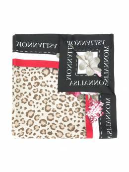 Monnalisa - шарф с принтом 69359659536668500000
