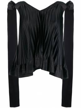 L'Autre Chose плиссированная блузка BJ320052048U999
