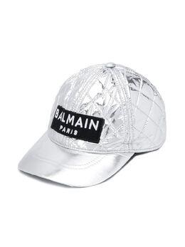 Balmain Kids - стеганая бейсболка 633LD386953655980000