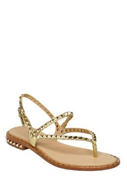 Золотистые сандалии Peps с заклепками Ash 6112454