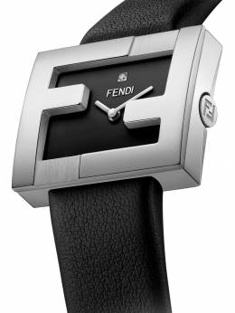 Fendi - FF logo embellished watch 858A0YA9509333000000