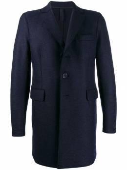 Harris Wharf London - однобортное пальто средней длины 66MLK953099950000000