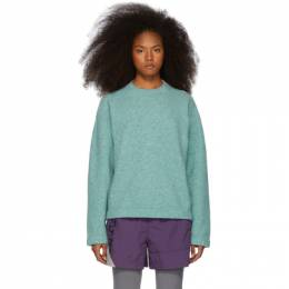 T By Alexander Wang Blue Teepee Sweater 192214F09600505GB