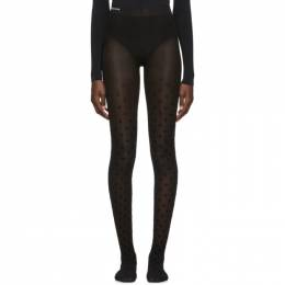 Balenciaga Black All Over BB Tights 192342F07600501GB