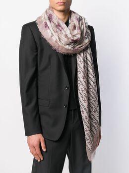 Salvatore Ferragamo - шарф с бахромой 58695339396000000000