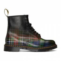 Dr. Martens Multicolor Plaid 1460 Tartan Boots 192399M25502207GB