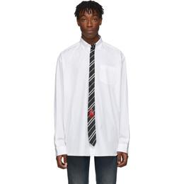Vetements White Tie Shirt 192669M19201401GB