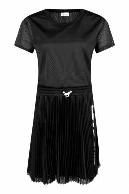 Черное платье-футболка с отделкой Red Valentino 986146857