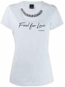 Pinko футболка с принтом 1G14GYY5BDE34