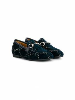Gucci Kids лоферы Jordaan GG 5789989TIU0
