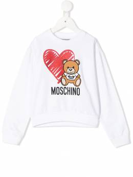 Moschino Kids толстовка Toy Bear HDF026LDA16