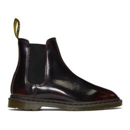 Dr. Martens Burgundy Graeme II Chelsea Boots R25030600