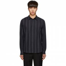Ps by Paul Smith Black Stripe Tailored Shirt M2R-149T-A20685