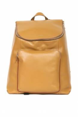 Кожаный рюкзак горчичного цвета Paul Smith 1924144186