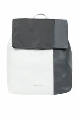 Рюкзак из кожи с контрастной отделкой Paul Smith 1924144833