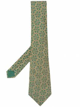Hermès Pre-Owned галстук 2000-х годов с принтом HER150AR