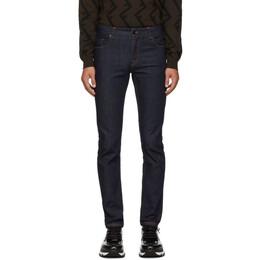 Fendi Blue Forever Fendi Skinny Fit Jeans 192693M18600901GB