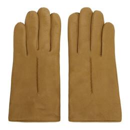 Lemaire Tan Deerskin Gloves 192646M13500104GB