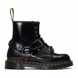 Dr. Martens Black 1460 Harness Lace-Up Boots R25163001