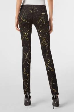 Черные зауженные брюки с декором Philipp Plein 1795147244