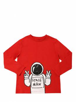 Футболка Из Хлопка Stella McCartney Kids 70I6SJ018-NjU2NA2