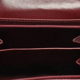 Cartier Red Leather Must de Cartier Wallet 218801
