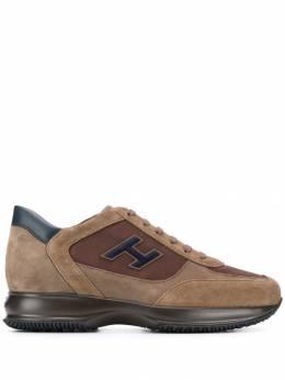 Hogan кроссовки на массивной подошве HXM00N0Q101LIU871N