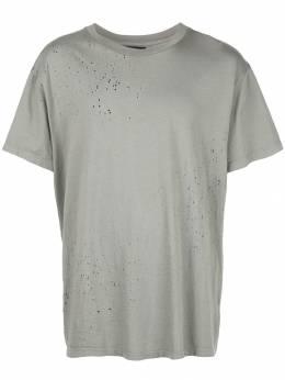 Amiri футболка с эффектом потертости W9M03350CJ