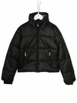 Karl Lagerfeld Kids - пуховик с логотипом 63069B95385093000000