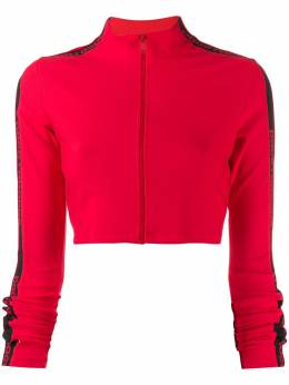 Paco Rabanne укороченная куртка с логотипом 19AJVE002VI0071