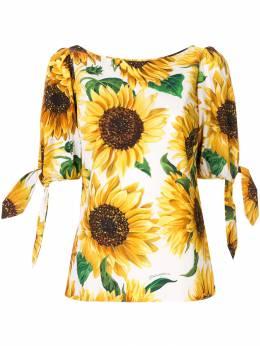 Dolce & Gabbana - блузка с принтом W5THS5EB956895990000