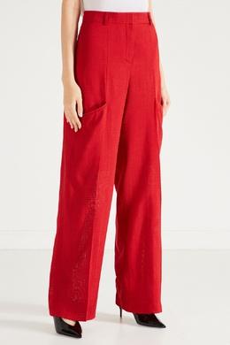 Красные брюки с карманами Jacquemus 2985147857