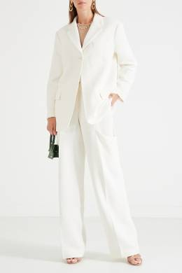 Белые брюки с карманами Jacquemus 2985147854