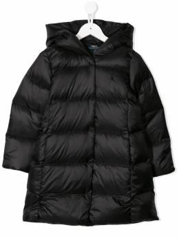 Ralph Lauren Kids - пальто-пуховик на молнии 35869695395956000000