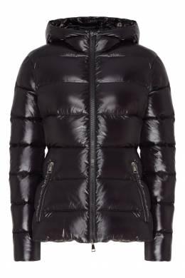 Черная стеганая куртка Moncler 34147938