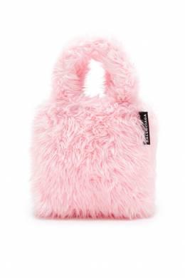 Розовая сумка с меховой отделкой Balenciaga 397147840