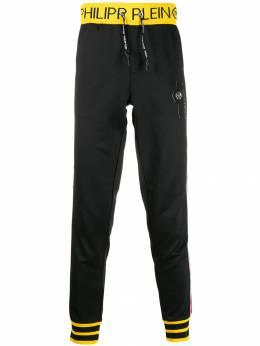 Philipp Plein - спортивные брюки с логотипом CMJT9033PJO660N95969