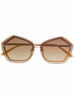 Self-Portrait - солнцезащитные очки в геометричной оправе 0S660953886000000000