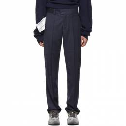 Vetements Navy New Classic Trousers 192669M19100302GB