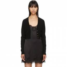 Dolce&Gabbana Black Cashmere Cardigan 192003F09500102GB
