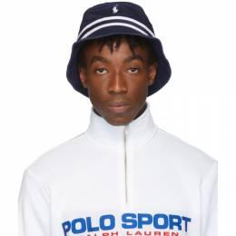 Polo Ralph Lauren Navy Bucket Hat 192213M14000202GB